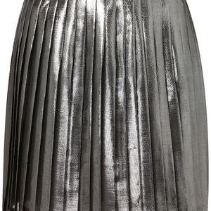 c8b0f529cc Anthropologie Skirts | Anthro Wave Metallic Pleated Skirt Sz S ...